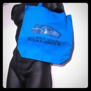 Custom Seahawks carry bag,